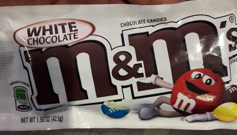M &m-white Chocolate - Produit
