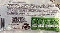 M &m-white Chocolate - Ingrédients