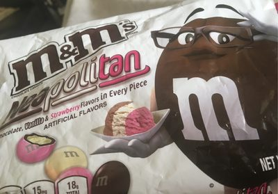 M&M's Neapolitan - Product - fr