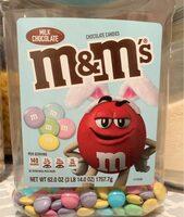 Mm's milk chocolate candies - Product - en