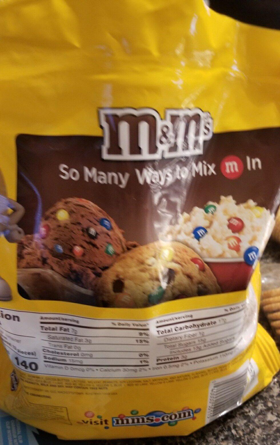 m&m - Ingredients