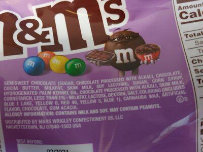 M&M's Fudge Brownie - 3