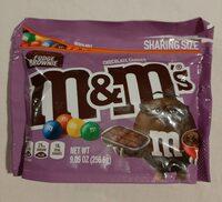 M&M's Fudge Brownie - Product - en