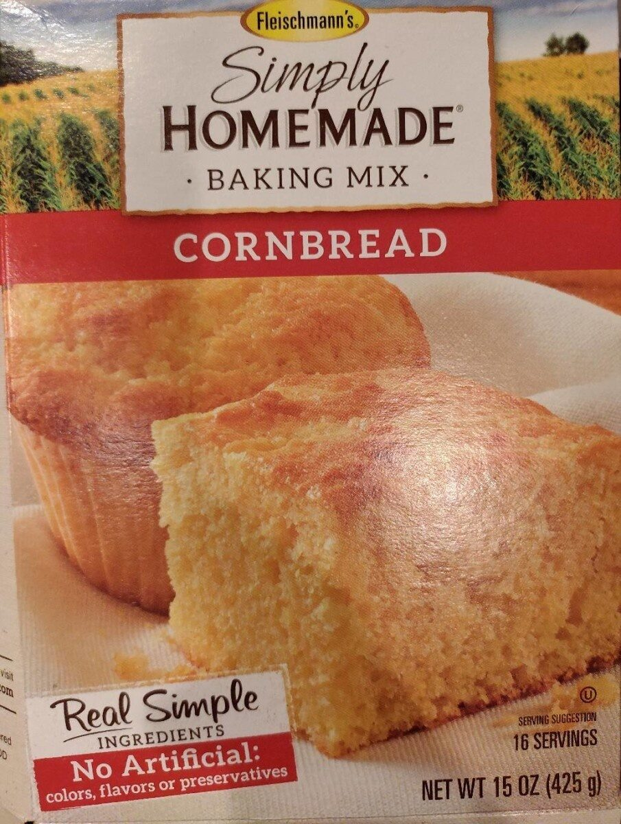 Simply homemade cornbread mix - Product - en