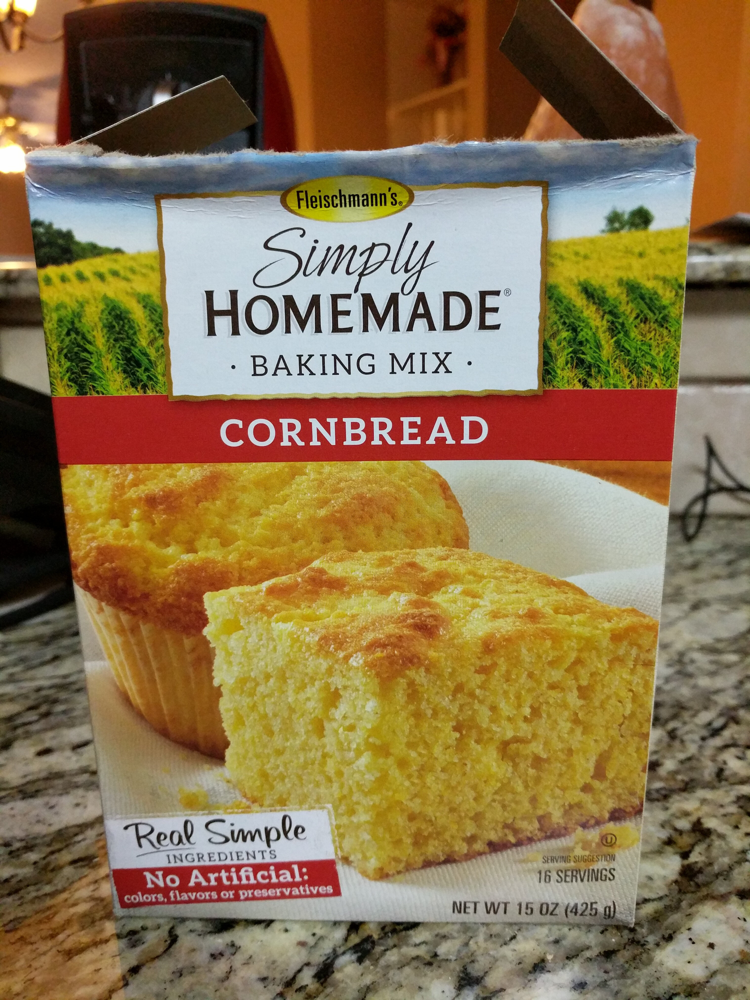 Simply homemade baking mix cornbread - Product - en