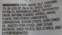 pork carnitas - Ingredients - en