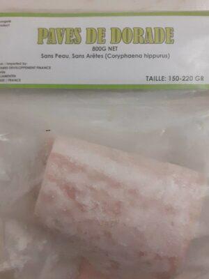 Pavés de daurade - Produit - fr