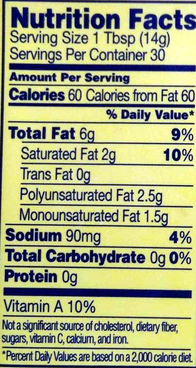 Soybean Oil Free Foods
