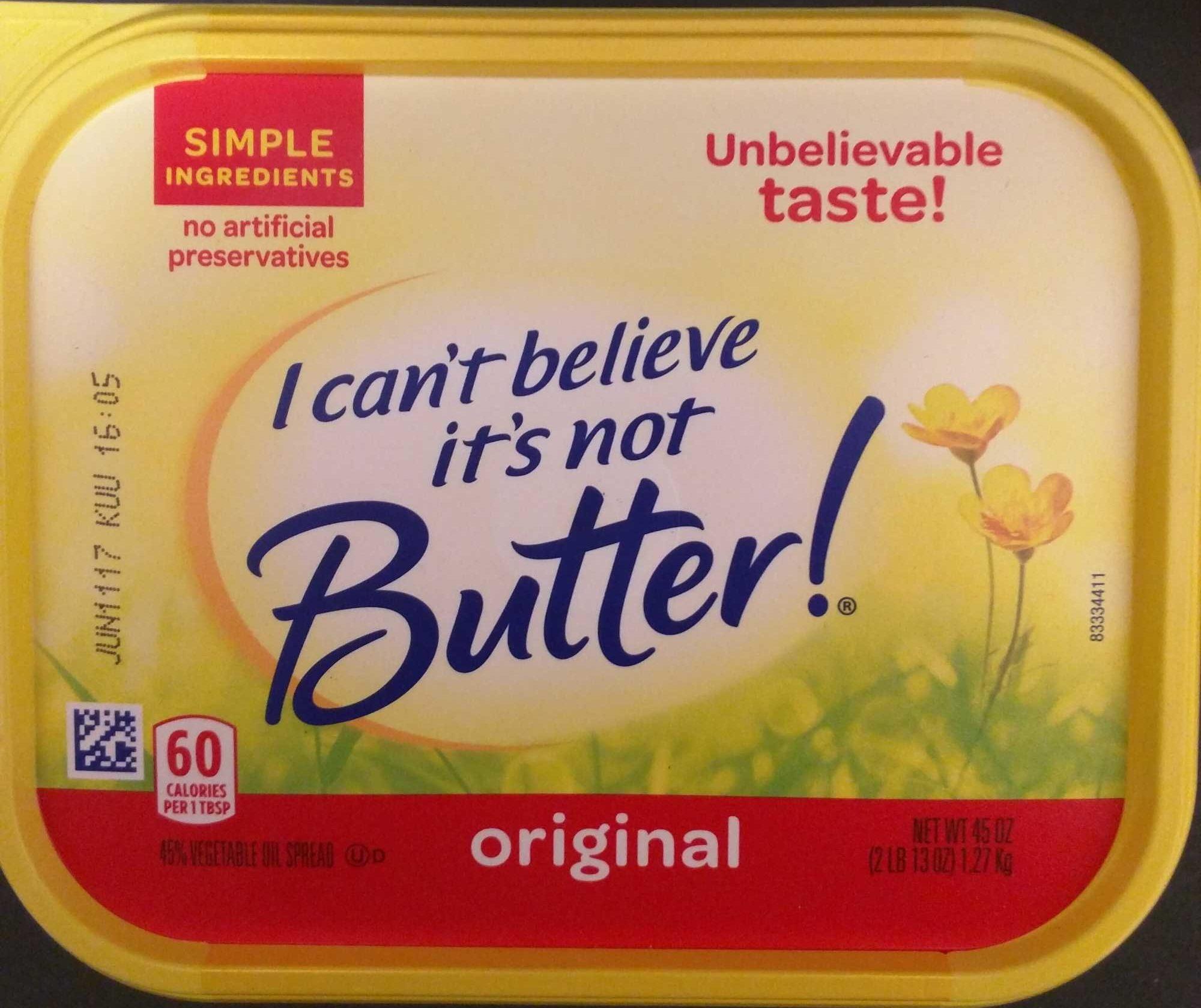 45% Vegetable Oil Spread, Original - Produit