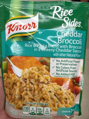 Rice sides cheddar broccoli - Product - en