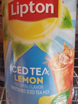 Sweetened iced tea mix - Product - en