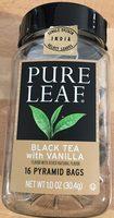 Black Tea with Vanilla - Product