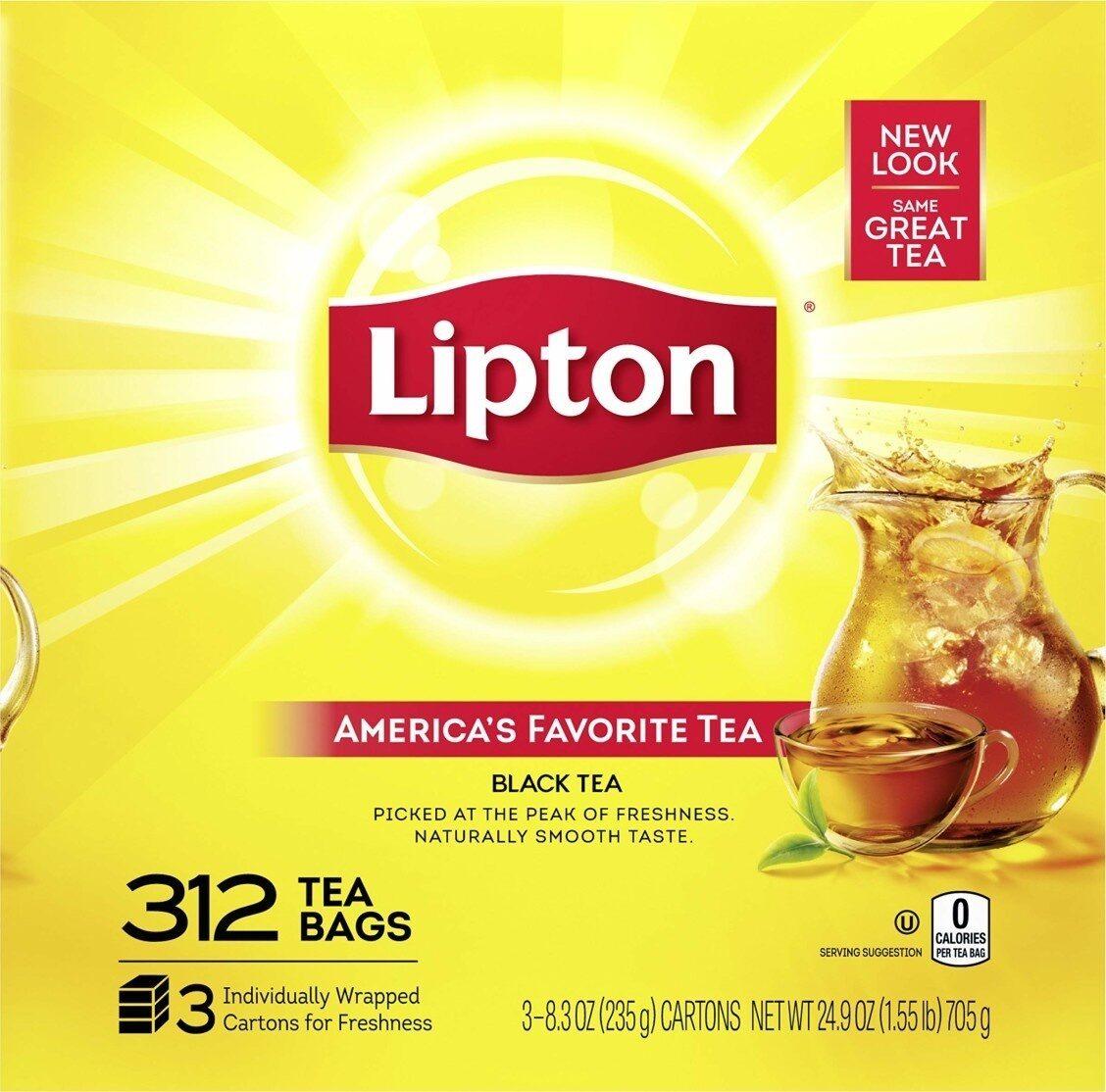 Lipton Black Tea - Product - en