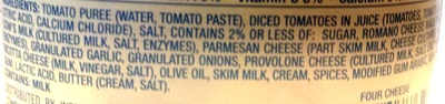 Pasta sauce - Ingredients - en