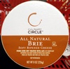 Culinary circle, all natural brie - Product