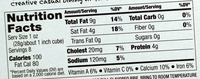 Culinary circle, all natural brie - Nutrition facts - en