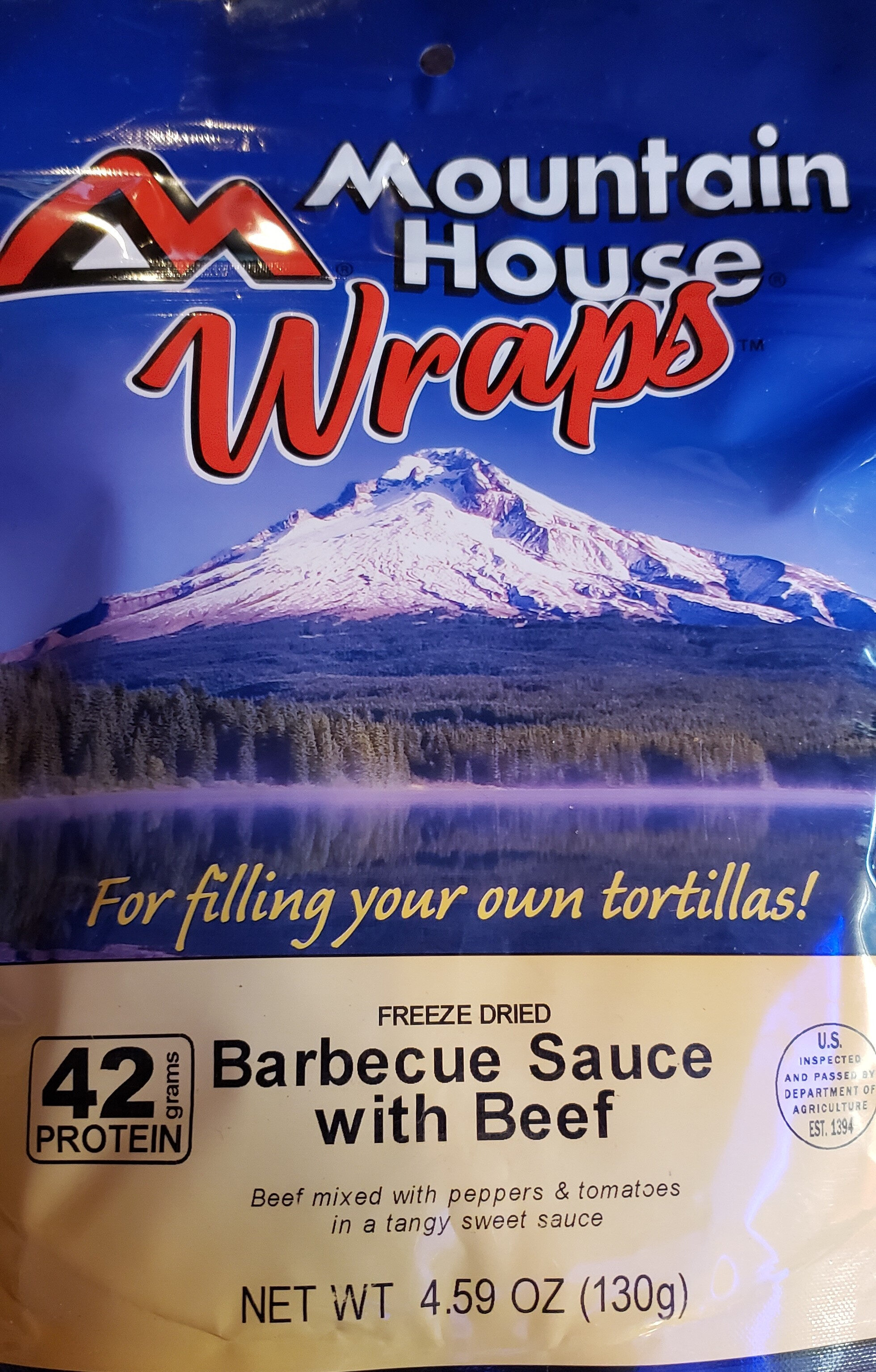 Freeze dried barbecue sauce with beef - Product