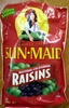 Natural California Raisins - Produit