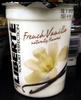 French Vanilla naturally flavored Yogurt - Product