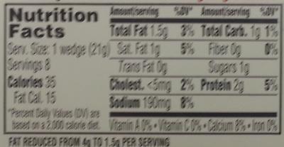 Light Garlic & Herb - Voedingswaarden - en