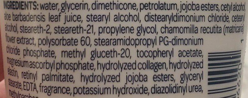 lotion - Ingrédients - en