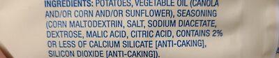 Salt & Vinegar Chips - Ingredients - en