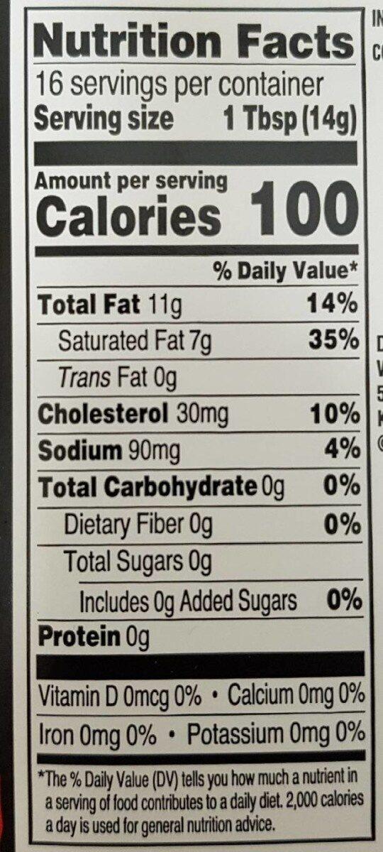 Sweet Cream Butter - Nutrition facts - en
