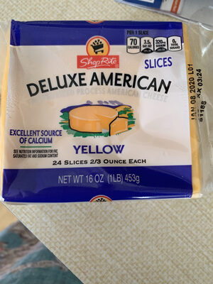 Deluxe American Cheese Slices - Product
