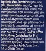 Progresso Traditional Cheese Tortellini in Garden Vegetable Tomato Soup - Ingredients - en