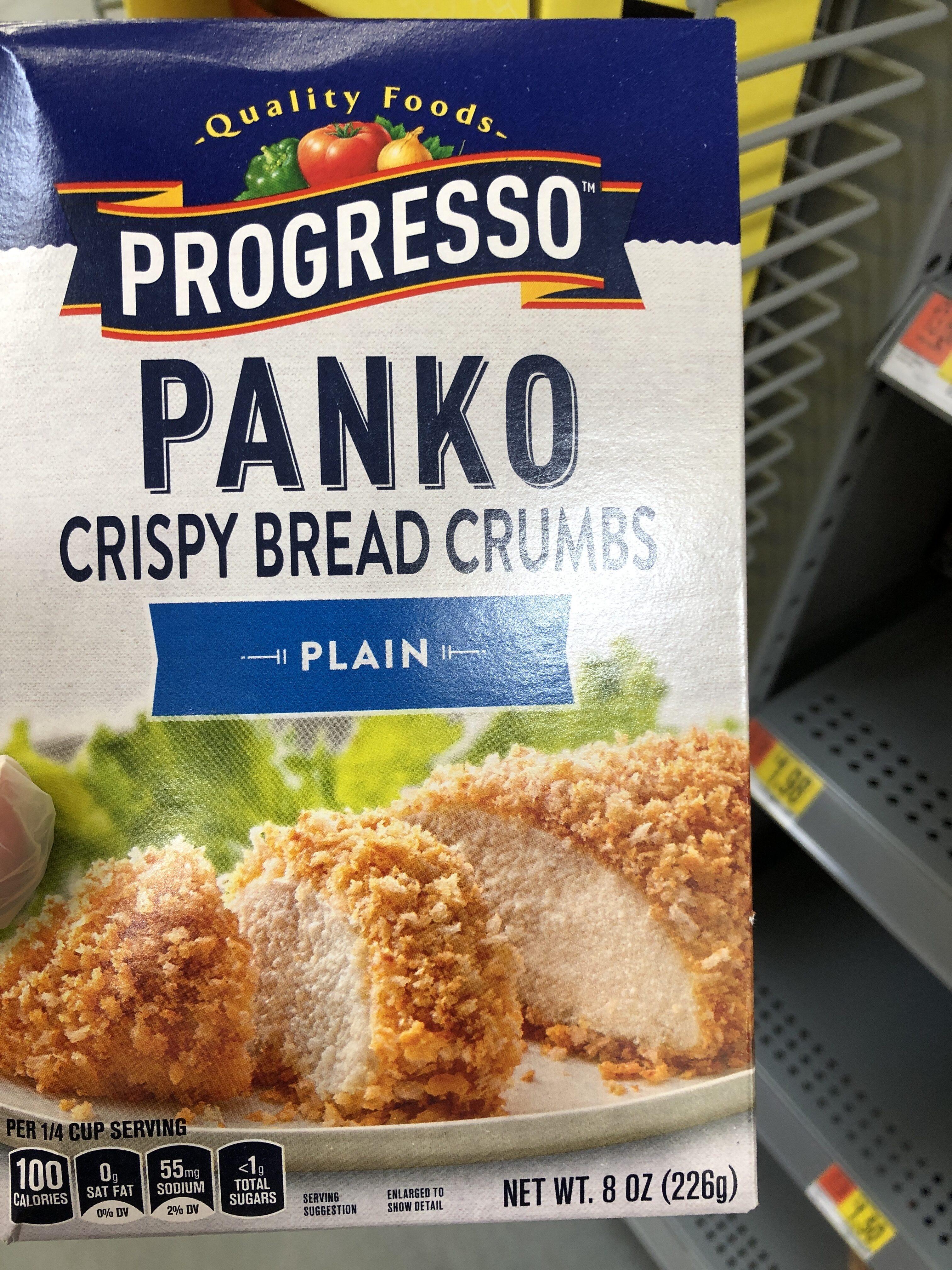 Progresso Plain Panko Crispy Breadcrumbs - Product - en