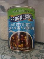 Reduced Sodium Southwest Style Black Bean & Vegetable Soup - Product - en