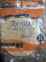tortilla de harina con salvado - Producto - es