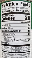 HEB Crushed Tomatoes - Nutrition facts - en