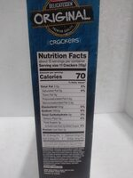Delicatessen original Crackers - Valori nutrizionali - en