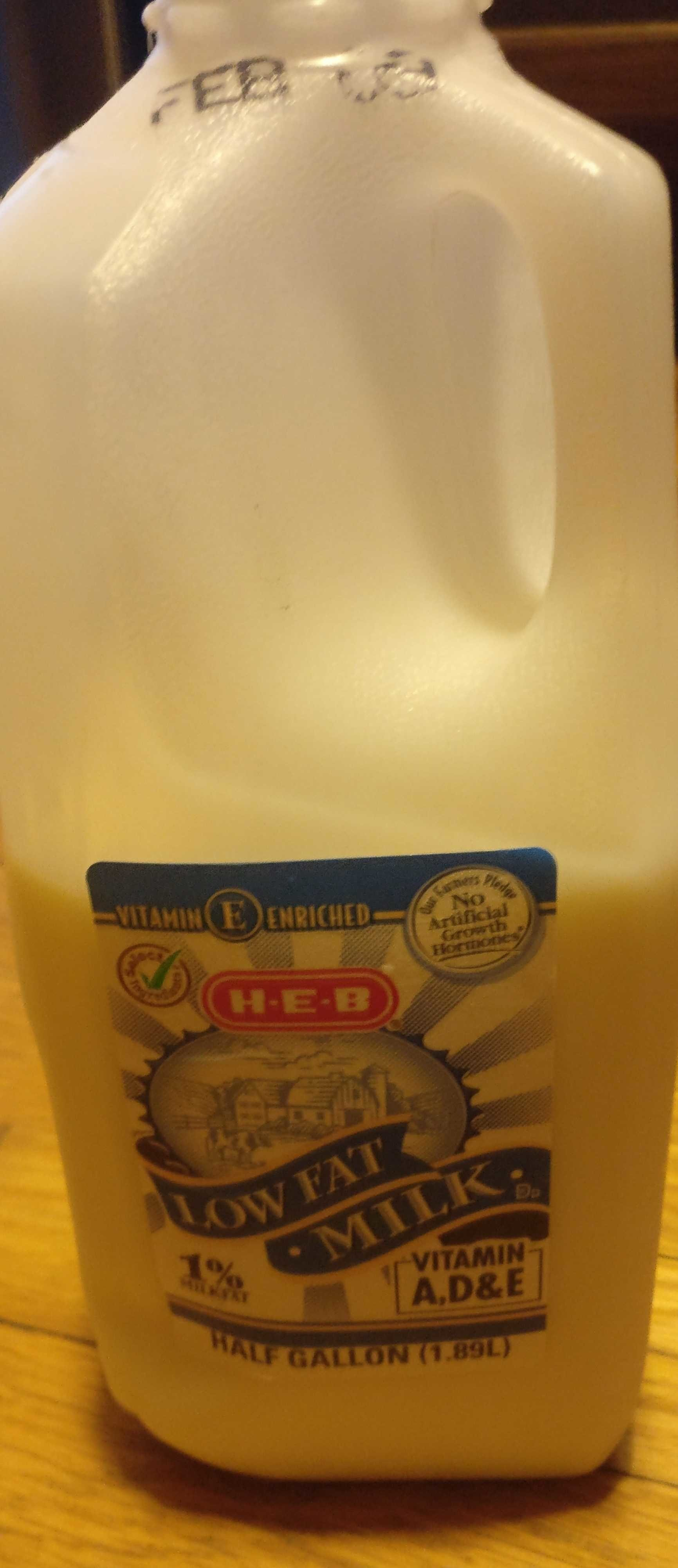 Low fat 1% milk - Product - en