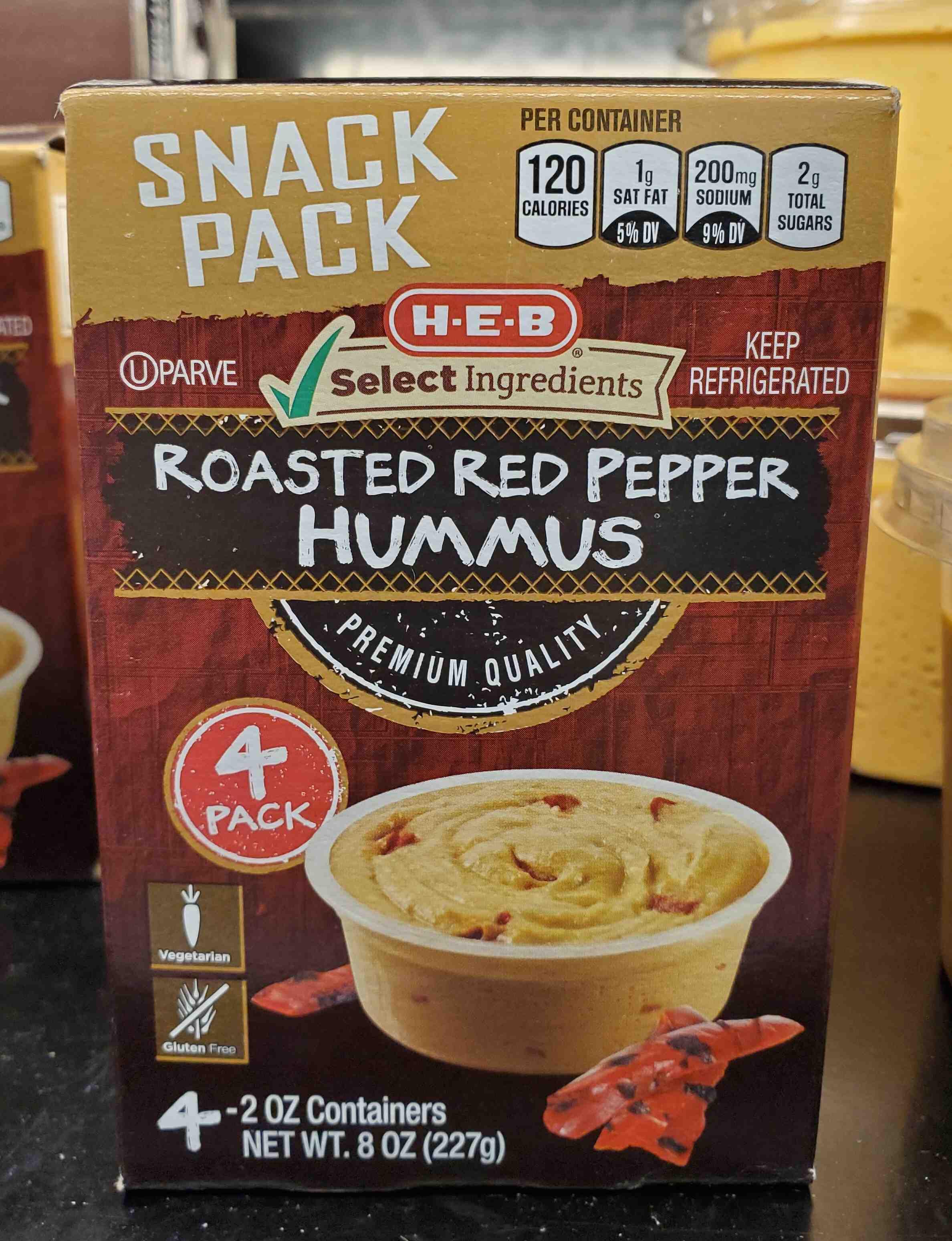 Roasted Red Pepper Hummus - Product - en