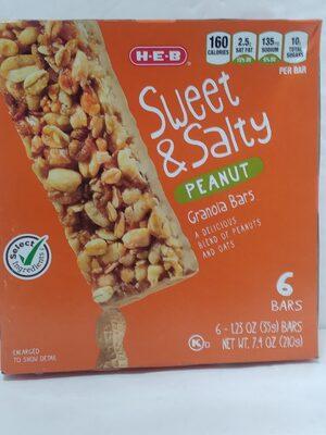 Sweet & Salty Peanut Granola Bar - Product - en