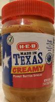 Creamy Peanut Butter Spread - Produit - en
