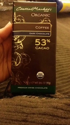 Coffee dark chocolate - Product - en