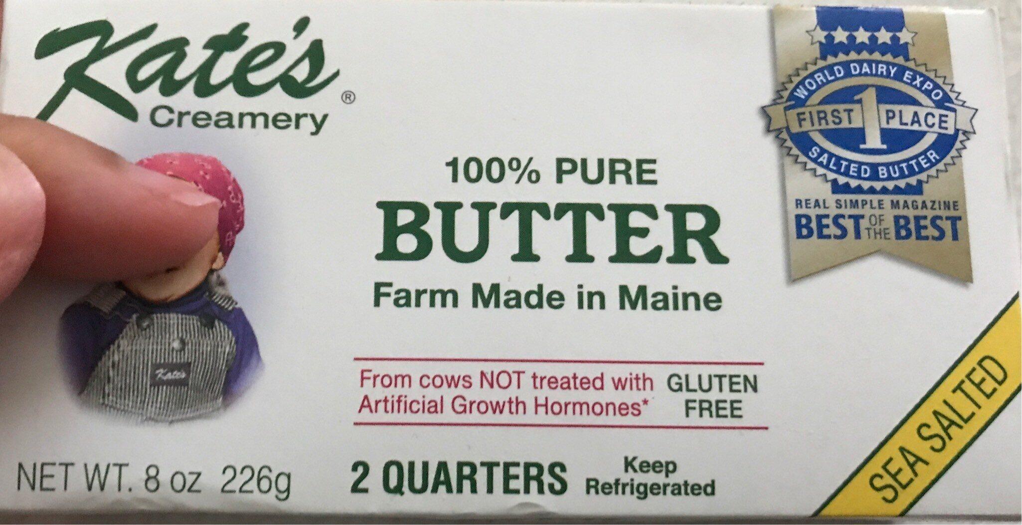 Kates butter  100% butter - Product - en