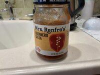 Hot habanero salsa, hot - Produit - en