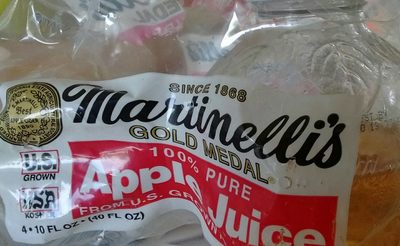 Martinelli's, 100% apple juice - Product - en
