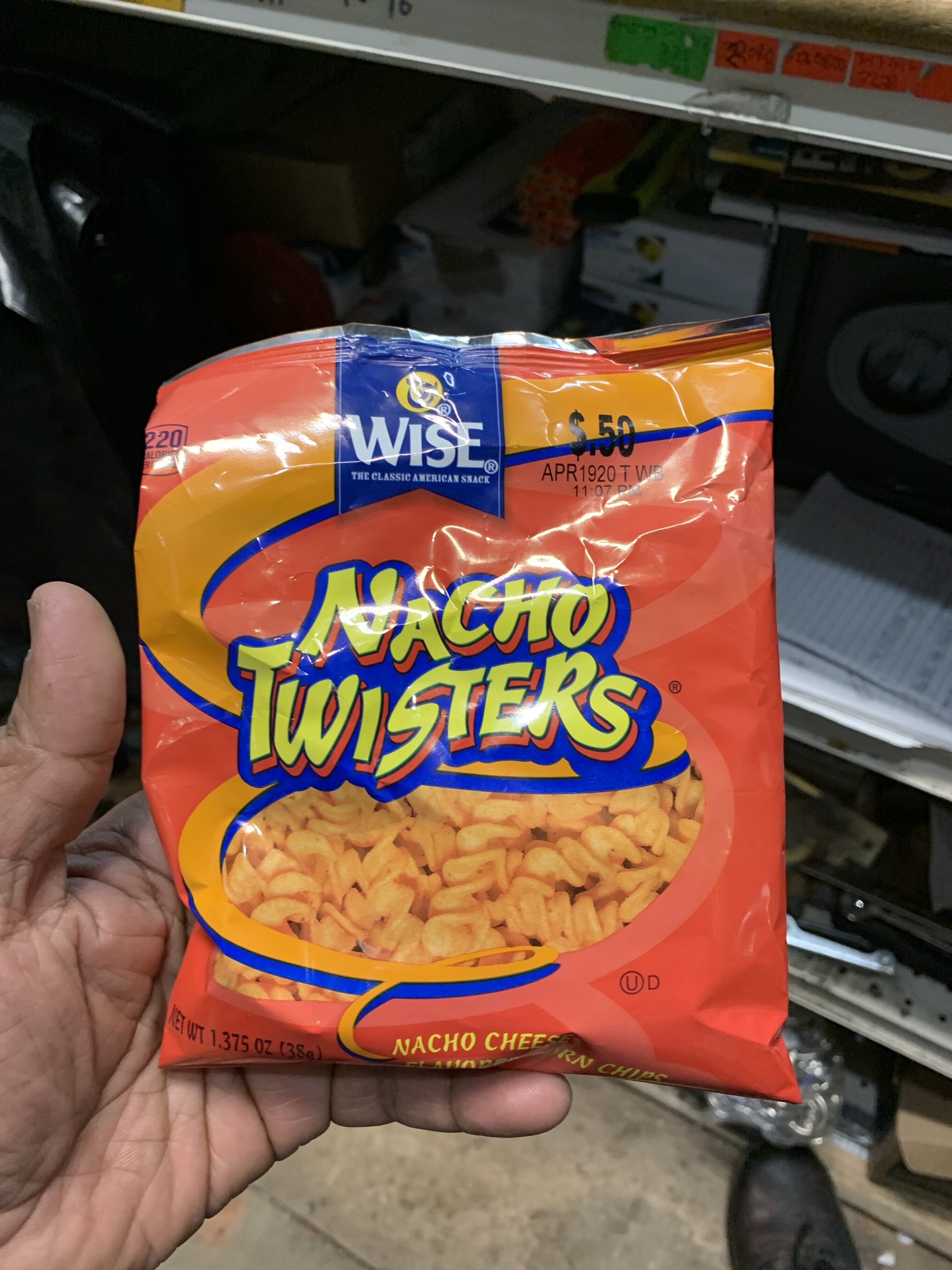 Nacho cheese flavored corn chips - Product - en