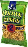 Onion rings ounce of by wise - Produit - en