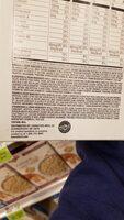 fruit and cream oatmeal - Ingrédients - en