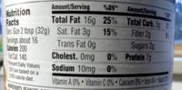 Creamy Peanut Butter - Nutrition facts - en