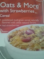 Oats & More with Strawberries Cereal - Product - en