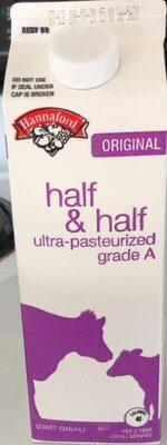 Ultra - Pasteurized Half & Half - Product - en