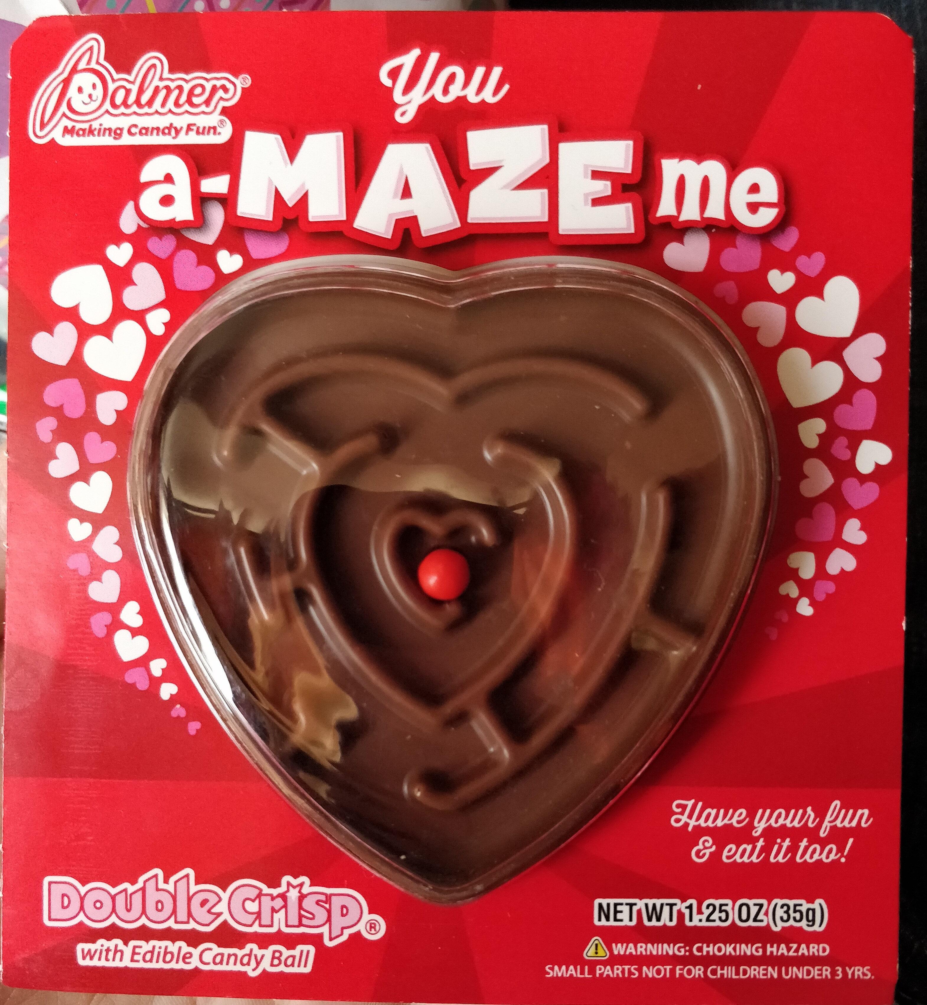 Double crisp chocolaty 'n smooth... crisp 'n cruncy candy ball - Product - en
