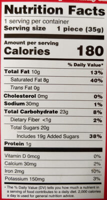 You'Re A-Mazeing Candy, Double Crisp - Nutrition facts